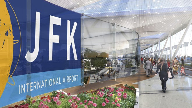JFK airport entrance